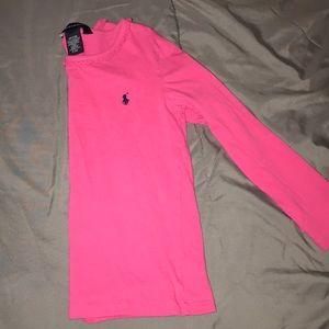 Girl's size 5 Ralph Lauren Long Sleeve Shirt